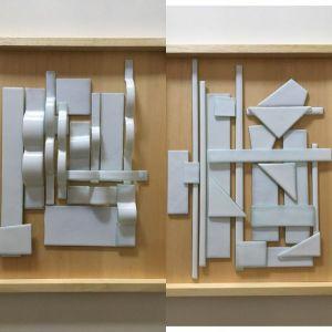 | tramas-2017- vidrio sobre madera   [0.38x0.45]