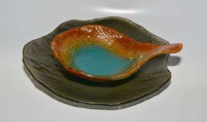 | Plato playo- bowl con manija