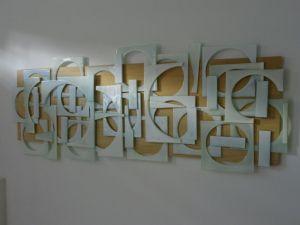 | trama cuadrado 2011-vidrio sobre madera [0.90x2.00]