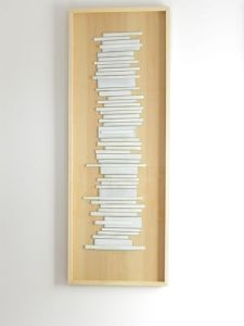 | Caminos -2011-vidrio sobre madera [0,50x1,40]