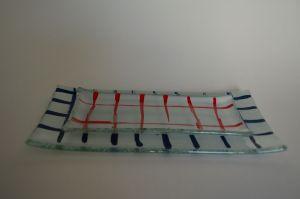   Bandeja Rect. 27x14 cm COD:0216 – Plato base Niro 10x21 cm COD:10x21 cm